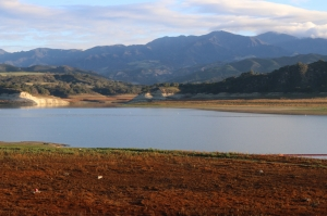 Cachuma Lake in January of 2015, photo by Santa Barbara County via Creative Commons, all rights reserved.